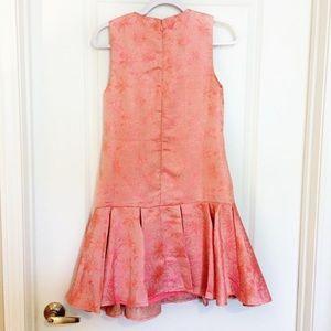 ASOS Dresses - ASOS Coral Brocade Party Prom Dress w/Jewel Bib